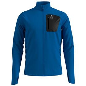 Odlo Blaze Ceramiwarm Pro Full-Zip Midlayer Herren directoire blue melange